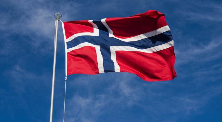 Et flagg av Norge