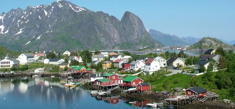 Et fiskevær i Lofoten