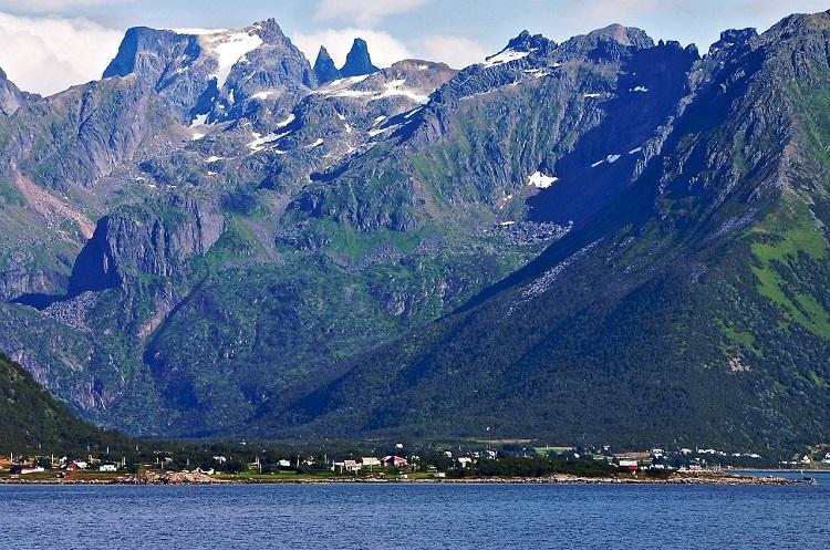 Et fjelllandskap