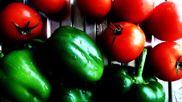 Tomater og paprika