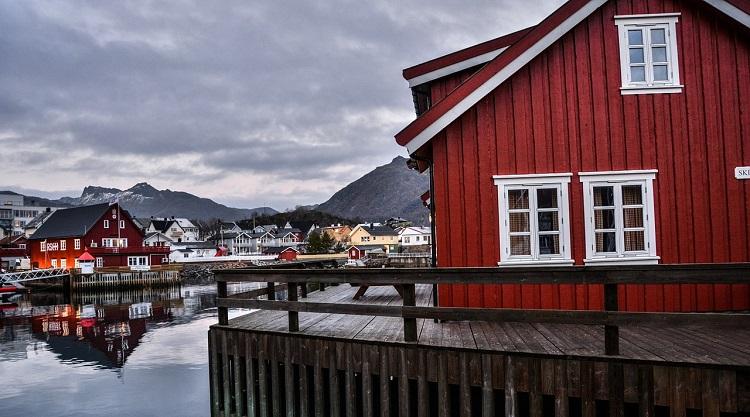 Hus i Lofoten